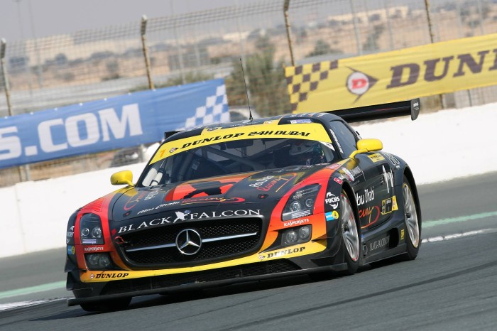 BLACK FALCON leads night practice in Dubai