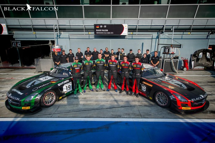 A tough first round of the 2014 Blancpain Endurance Series for Team Black Falcon
