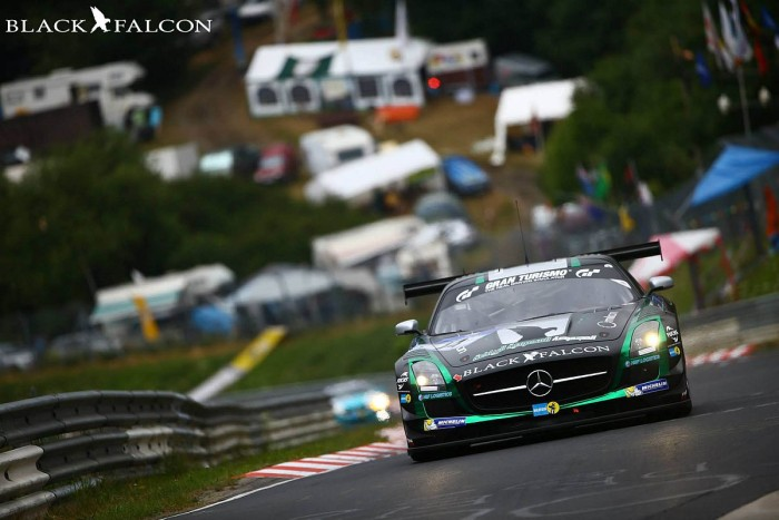 Black Falcon set for final Blancpain Endurance round at the Nürburgring this weekend