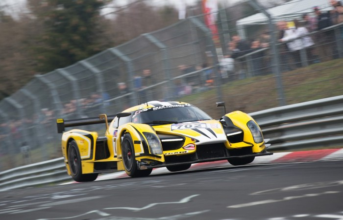 Scuderia Cameron Glickenhaus shows promise in opening VLN race despite an early finish