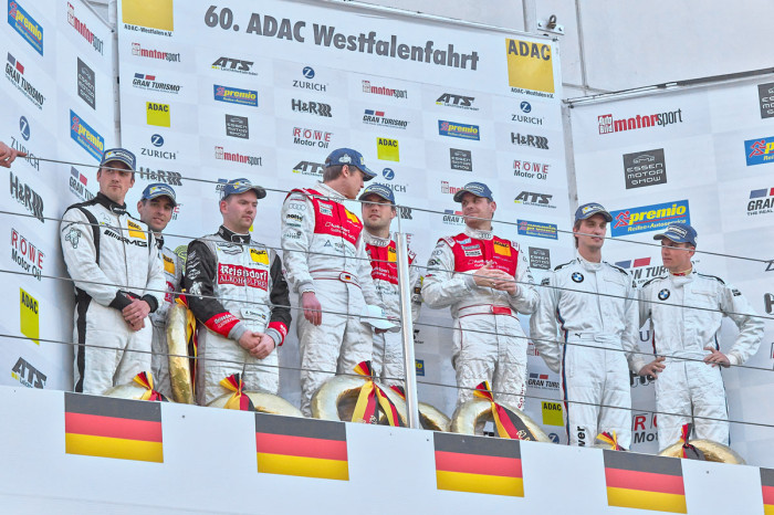 Second place finish for Team Black Falcon in first VLN race of 2014