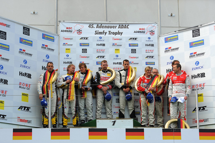 Black Falcon takes first victory in 2014 for Mercedes-Benz