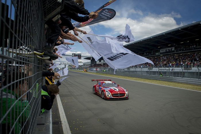 Team Black Falcon on the 24 Hours of Nürburgring podium for second consecutive year