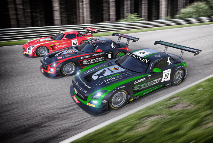 Total 24 Hours of Spa presents third 24-hour challenge of 2014 for Team Black Falcon