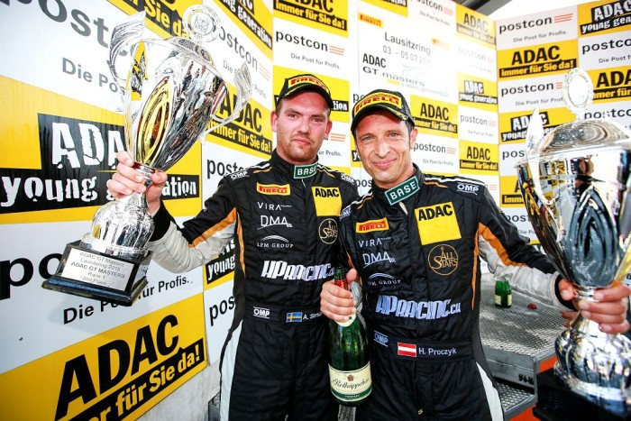 Podium finish for HP Racing at Lausitzring
