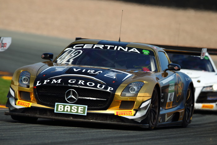 HP Racing scores championship points in the ADAC GT Masters